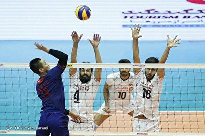 والیبال قهرمانی آسیا/ ایران ۳ - چین تایپه ۰