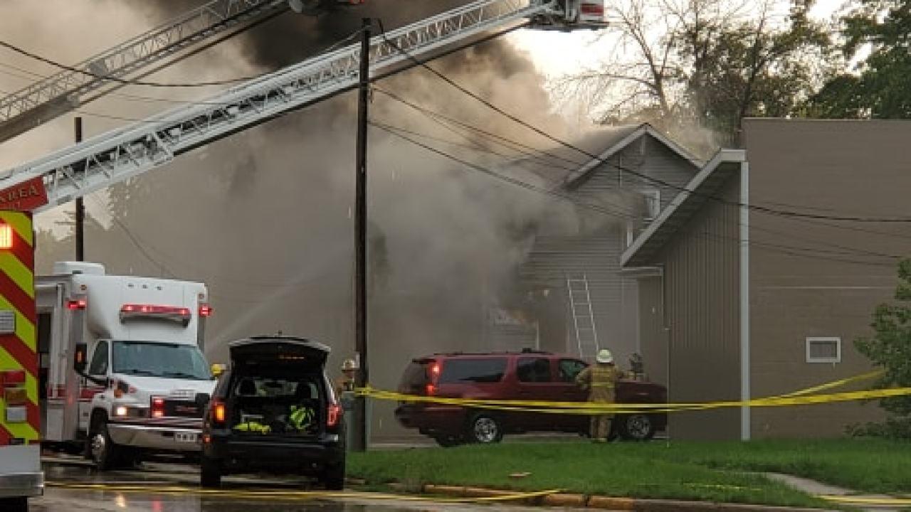 بر اثر آتشسوزی در ویسکانسین ۳ نفر کشته شدند