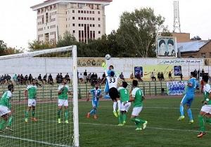 تساوی پاس همدان مقابل شهرداری بندرعباس در لیگ ۲ کشور