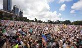 باشگاه خبرنگاران -تجمعات هزاران نفری در اعتراض به تغییرات آبوهوایی در استرالیا