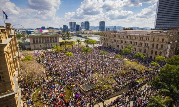 تجمعات هزاران نفری در اعتراض به تغییرات آبوهوایی در استرالیا