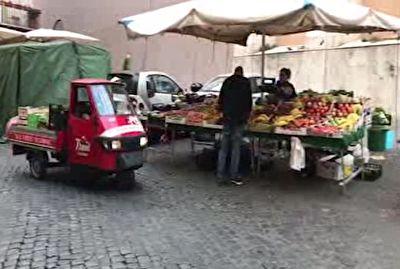 گزارش موبایلی حمید معصومینژاد از محبوبترین خودروی سه چرخ ایتالیایی + فیلم