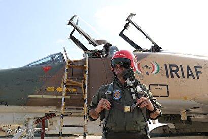 رژه تمرینی نیروی هوایی ارتش و هوافضای سپاه