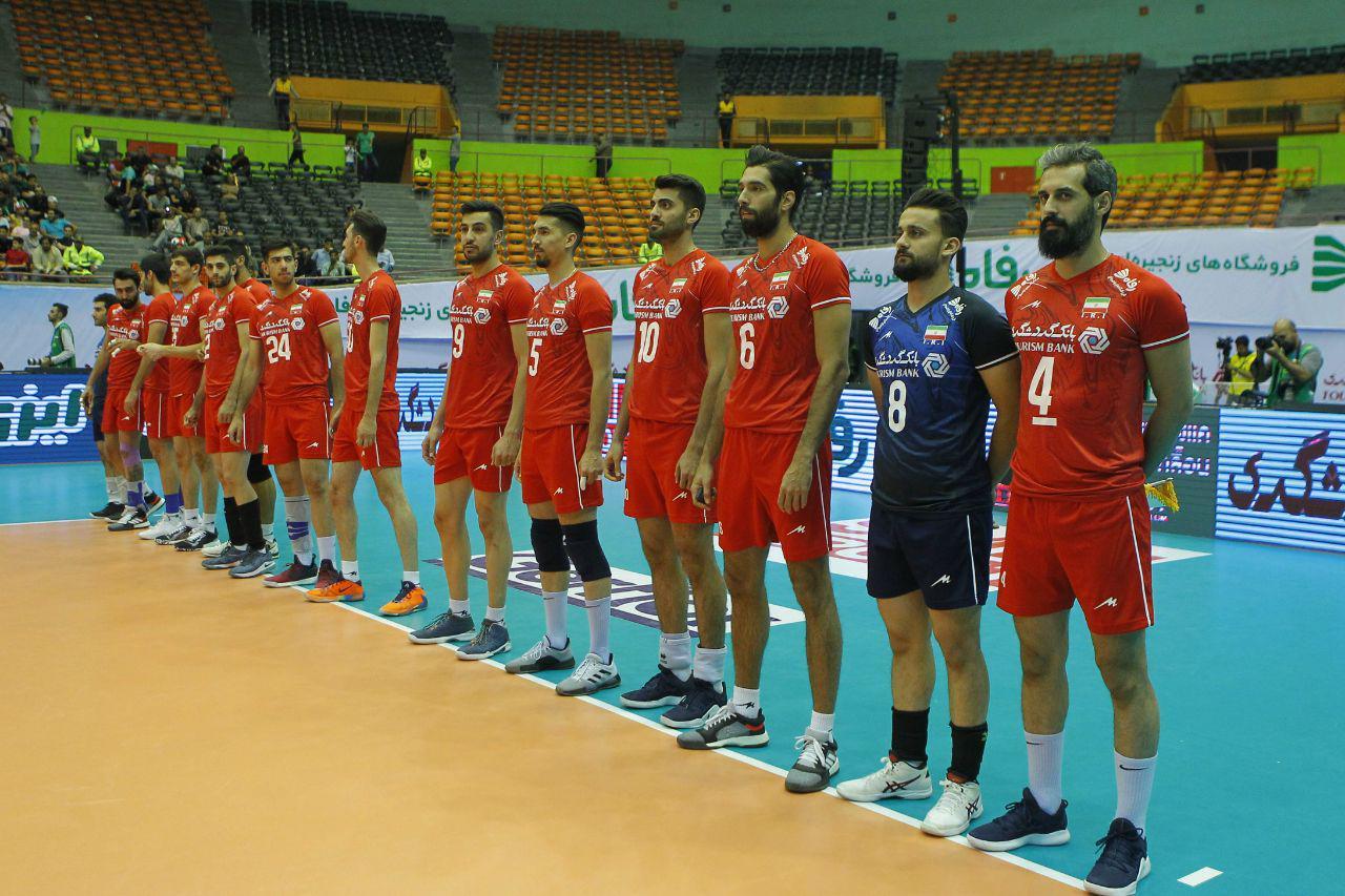 صعود ایران به فینال والیبال قهرمانی آسیا + فیلم خلاصه بازی