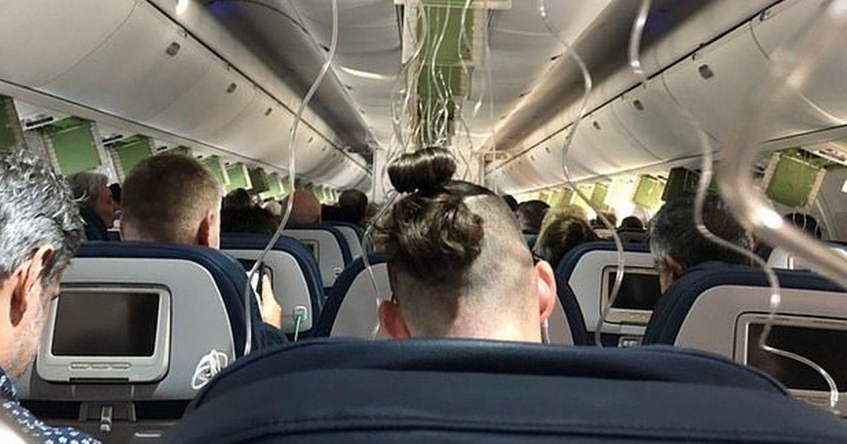 لحظات دلهره آوری که مسافران حین سقوط هواپیما تجربه کردند! + فیلم///