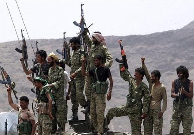 مواضع مزدوران در بخش الدایر به دست نیروهای یمنی افتاد