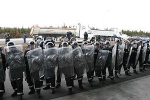 بازداشت ۶۸ نفر در تظاهرات علیه نشست گروه ۷ در فرانسه