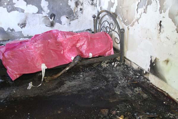 کشف جسد سوخته در یک منزل مسکونی