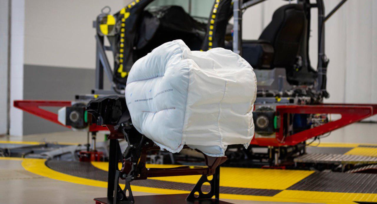افزایش ایمنی خودرو با کیسه هوا خلاقانه هوندا