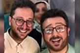 باشگاه خبرنگاران - بشیر حسینی «با عشق» میهمان بدلش شد +فیلم