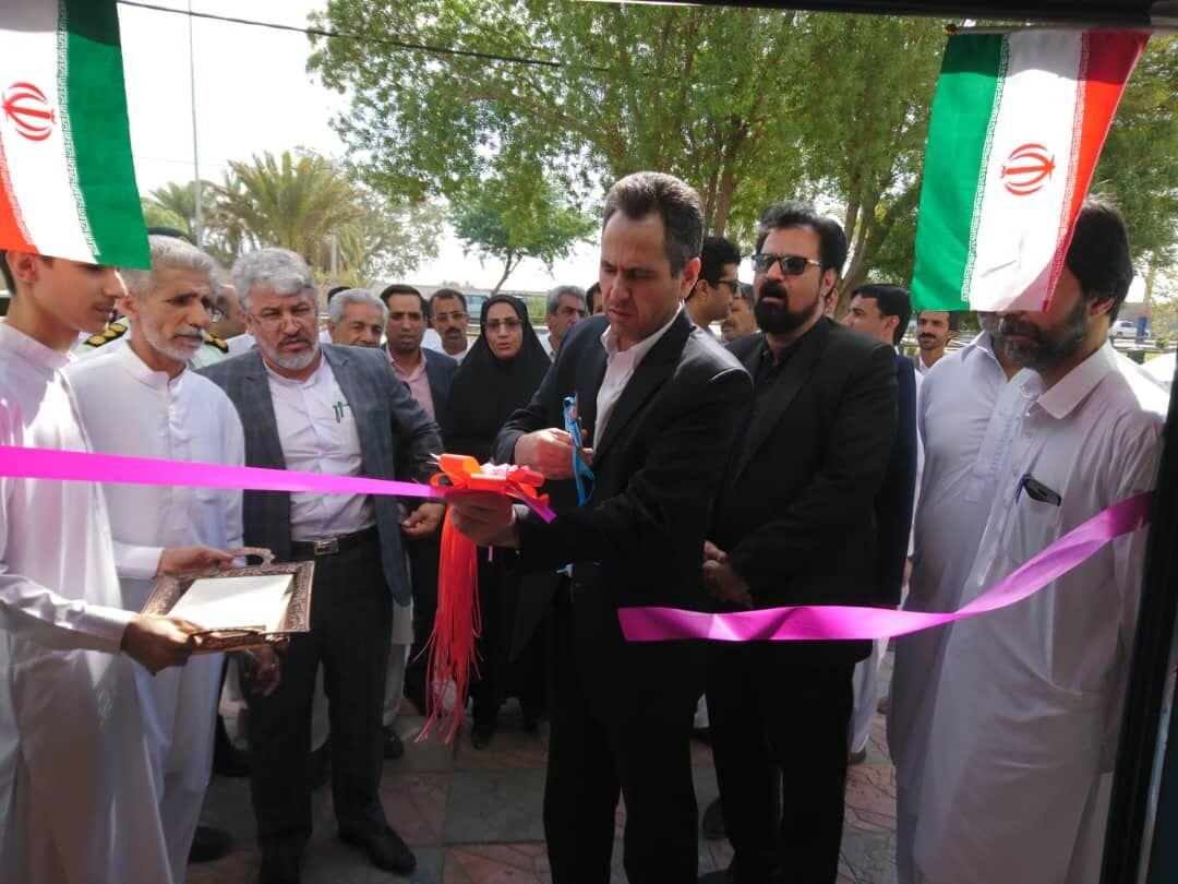 افتتاح و کلنگزنی ۶ طرح ویژه هفته دولت در ایرانشهر