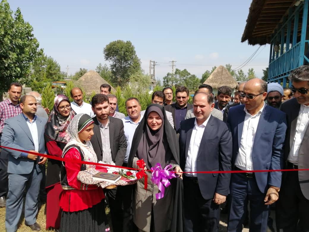 افتتاح واحد بوم گردی در دومین روز از هفته دولت