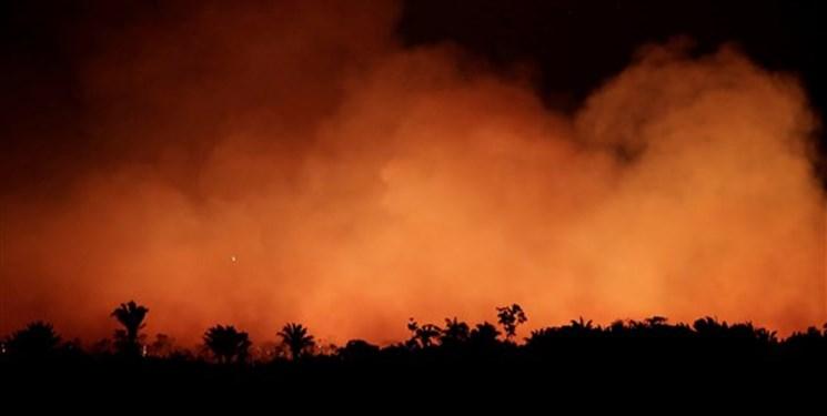 آتش سوزی جنگل های آمازون تهدیدی برای آمریکا!