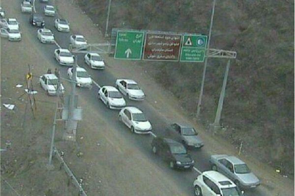دنده عقب رفتن در جاده قدیم تهران به کرج کار دست راننده خودروی جک داد