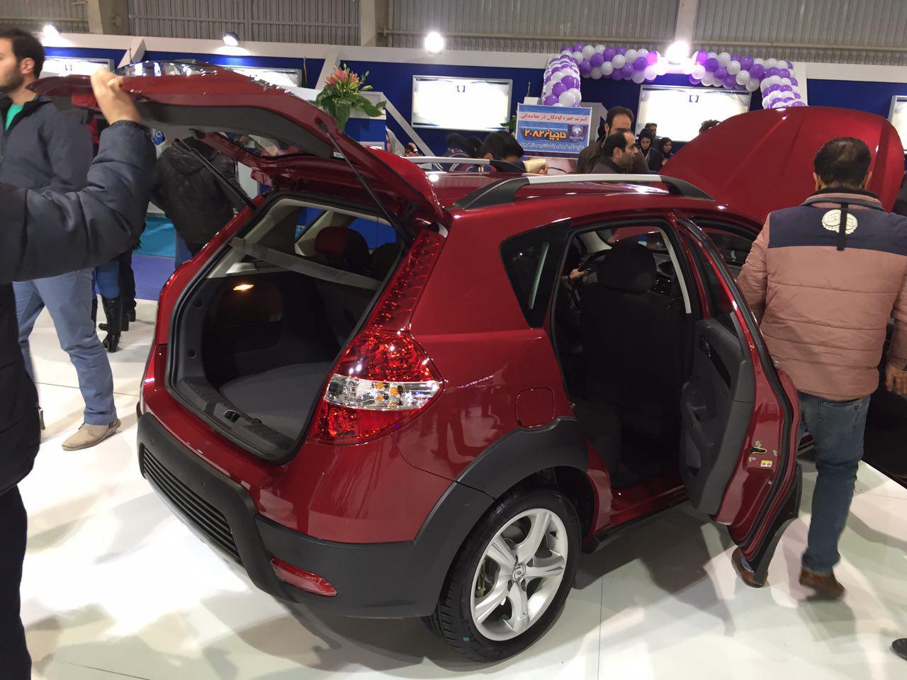 نمایشگاه بهترین خودروهای غرب کشور در کرمانشاه