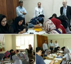 هنرمندان نیشابوری آزمون خوشنویسان ایران را دادند