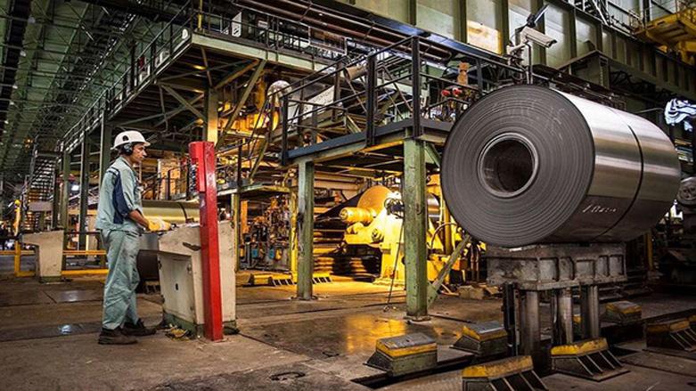 رشد ۱۱.۱ درصدی تولید فولاد ایران/ایران ۲ میلیون و ۲۰۰ هزار تن فولاد خام تولید کرد