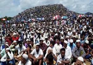 دهها هزار روهینگیایی مراسم «روز نسلکشی» را در کمپهای خود در بنگلادش برگزار کردند