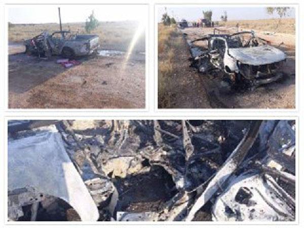 حمله پهپادی به ۲ خودروی بسیج مردمی عراق