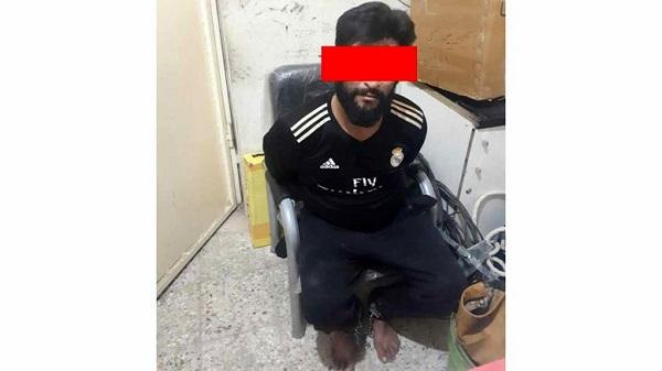 جمال گراز بعد از بازداشت! + عکس