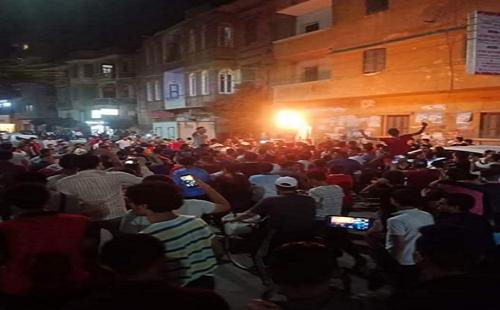 مردم مصر در اعتراض به سیاستهای السیسی به خیابان آمدند + فیلم و تصاویر