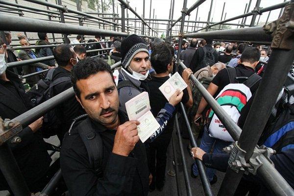 رشد ۴۹ درصدی تردد زائرین از مرز مهران
