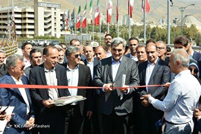 افتتاح پل چمران ـ ولنجک