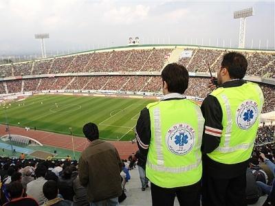 تمهیدات اورژانس تهران برای بازی شهرآورد پایتخت