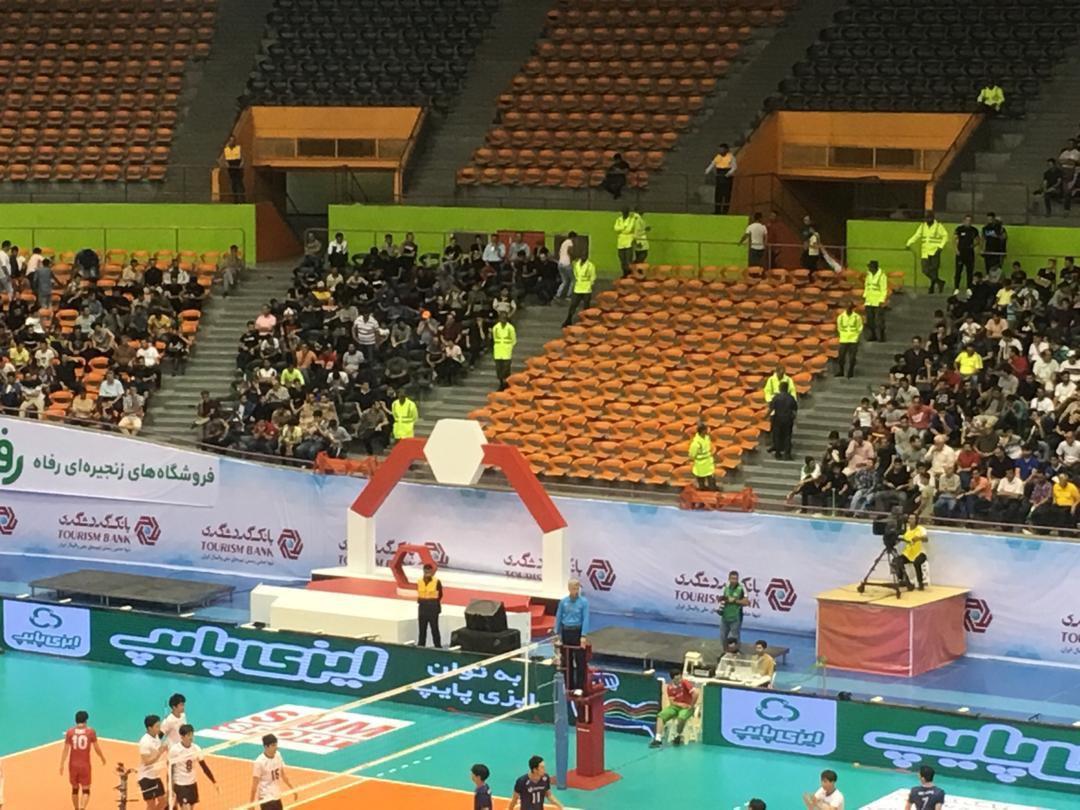 حواشی پیش از دیدار تیمهای ملی والیبال ایران - استرالیا