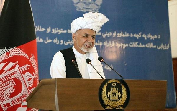 اشرف غنی: برای ساخت مساجد جامع در هر ولسوالی ۳۰ میلیون افغانی اختصاص می یابد