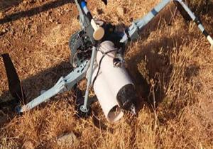 رهگیری یک پهپاد حامل بمب خوشهای در بلندیهای جولان از سوی ارتش سوریه