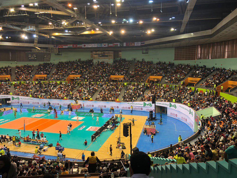 تیم ملی والیبال ایران ۲ - استرالیا صفر/ ست دوم
