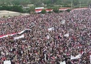 راهپیمایی یمنیها در سالروز پیروزی انقلاب این کشور/سخنگوی انصارالله: ۲۱ سپتامبر روز پایان سلطه عربستان و آمریکا بر یمن است
