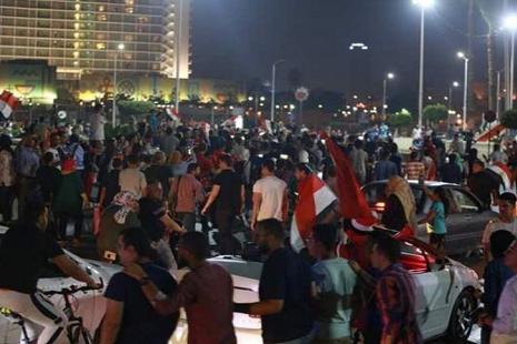 تظاهرات صدها مردم مصر نفری برای کناره گیری السیسی از قدرت