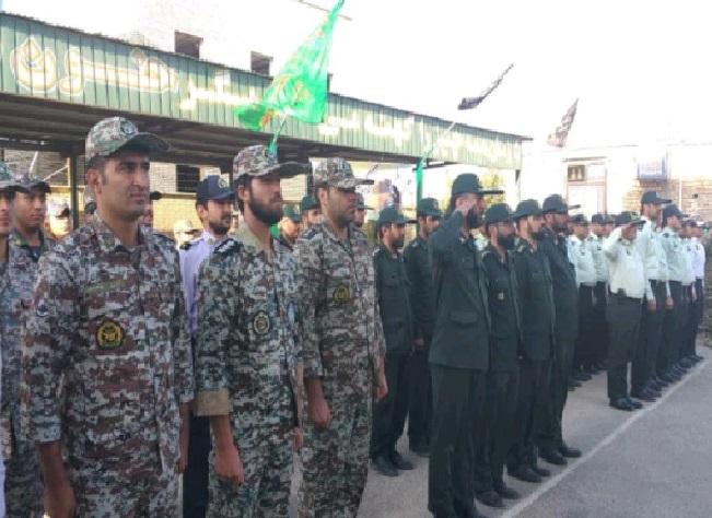 صبحگاه مشترک در شهرستانهای استان مرکزی