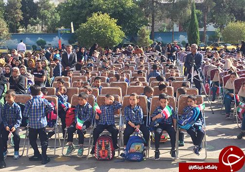 زنگ شکوفه ها در مدارس فارس نواخته شد