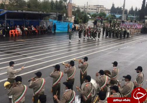 رژه توانمندیهای نیروهای مسلح در گلستان+تصاویر