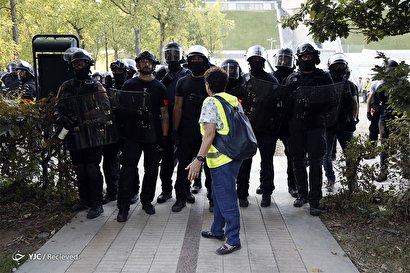 چهل و پنجمین شنبه اعتراضی در فرانسه