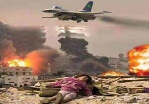جنگندههای ائتلاف متجاوز سعودی بار دیگر برجهای مخابراتی یمن را هدف قرار دادند