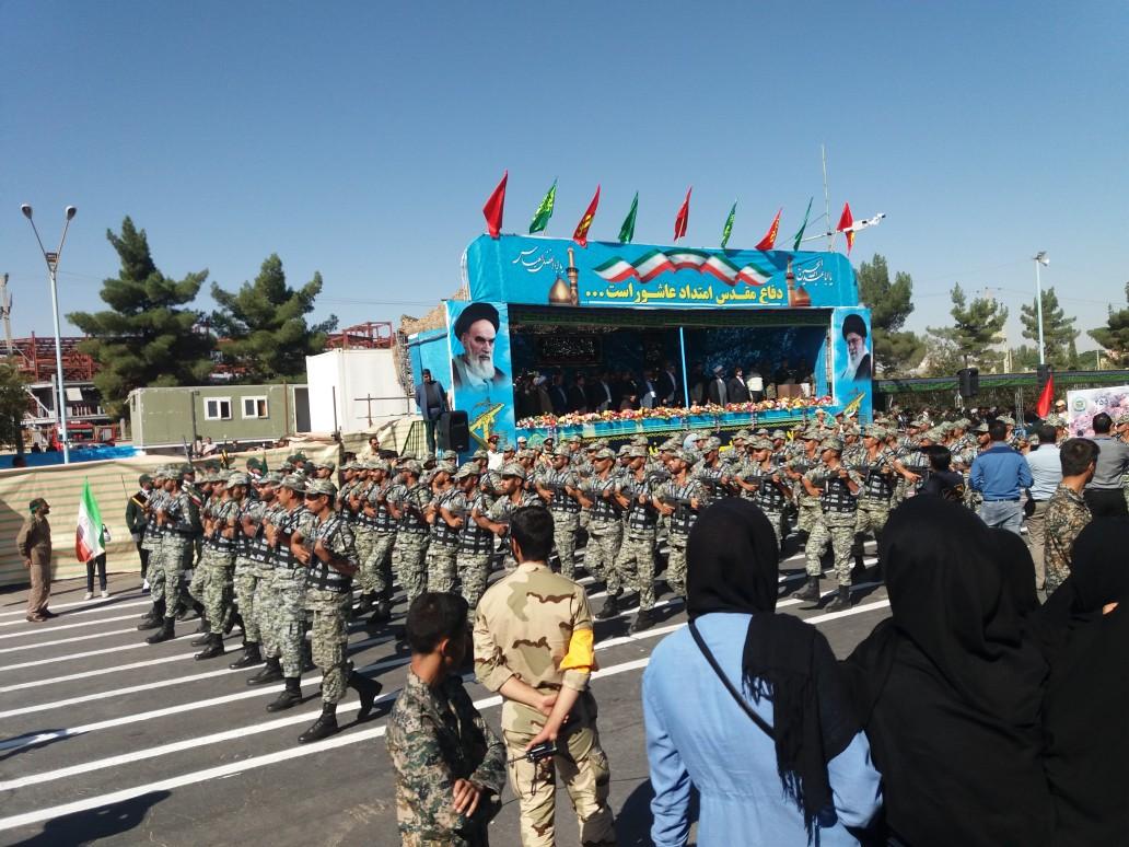 رژه نیروهای مسلح کرمان +عکس