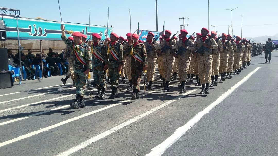 نمایش اقتدار نیروهای مسلح در سیستان و بلوچستان + تصاویر