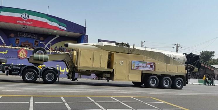 نمایش سر جنگی موشک بالستیک دور برد خرمشهر