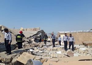 انفجار گاز در صادقیه اهواز حادثه آفرید/۲ نفر مصدوم شدند