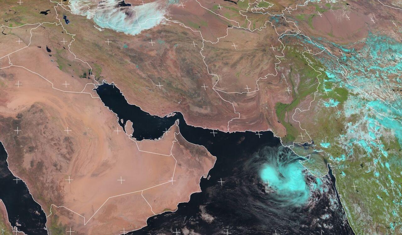 شکل گیری سیستم کم فشار حارهای در ۹۰۰ کیلومتری چابهار