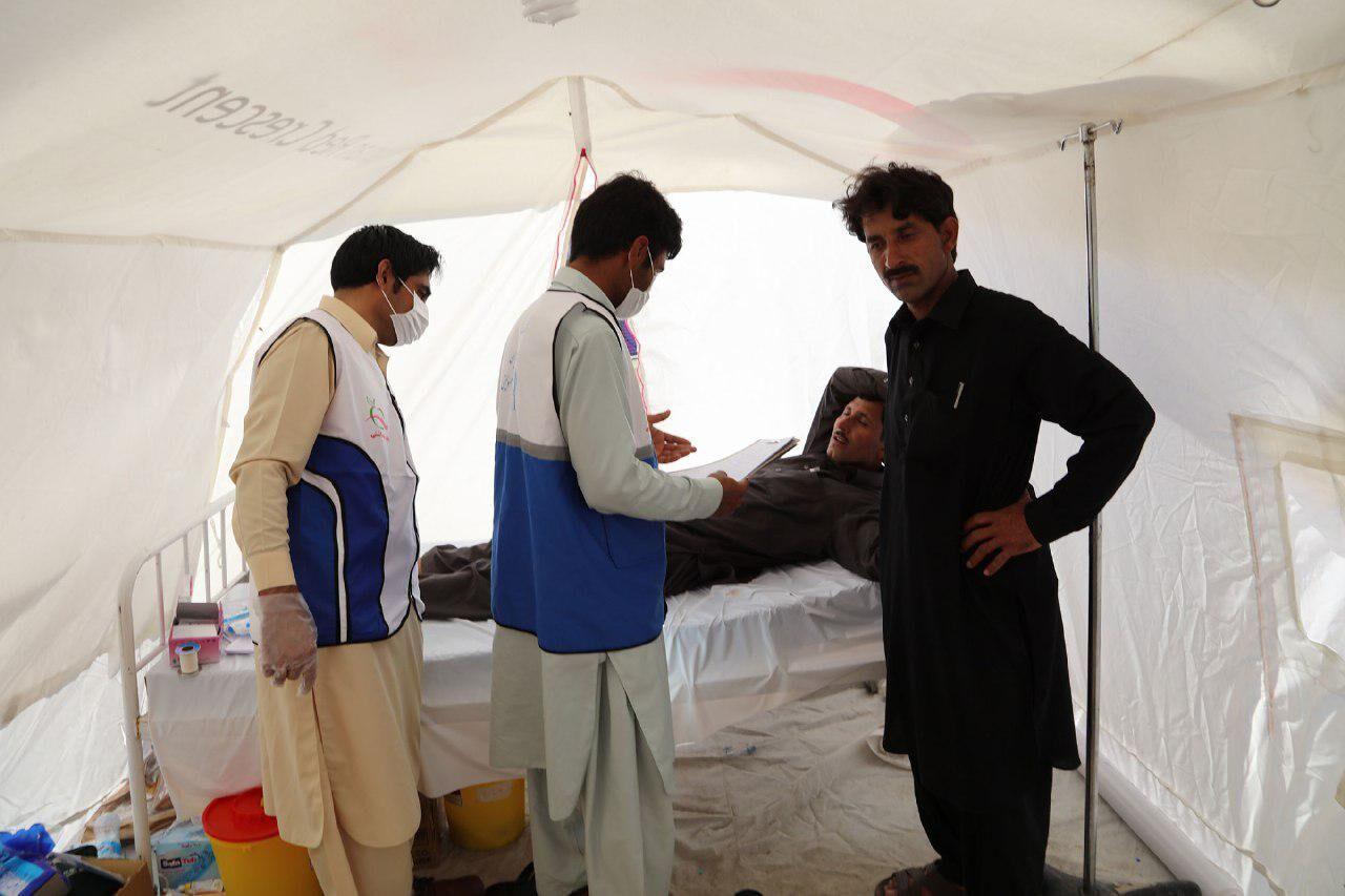 افزون بر ۱۶ هزار زائر پاکستانی در میرجاوه خدمات سلامت دریافت کردند