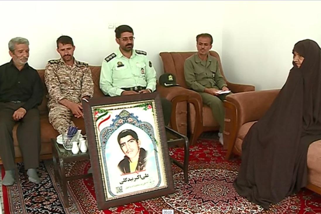 سرکشی مسئولان شهرستانهای استان مرکزی از خانواده شهدا
