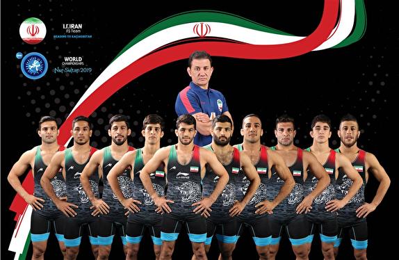 عنوان چهارمی ایران در رقابت های کشتی آزاد قهرمانی جهان