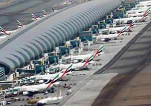 مختل شدن پروازها در فرودگاه دبی در پرواز پهپادی مشکوک