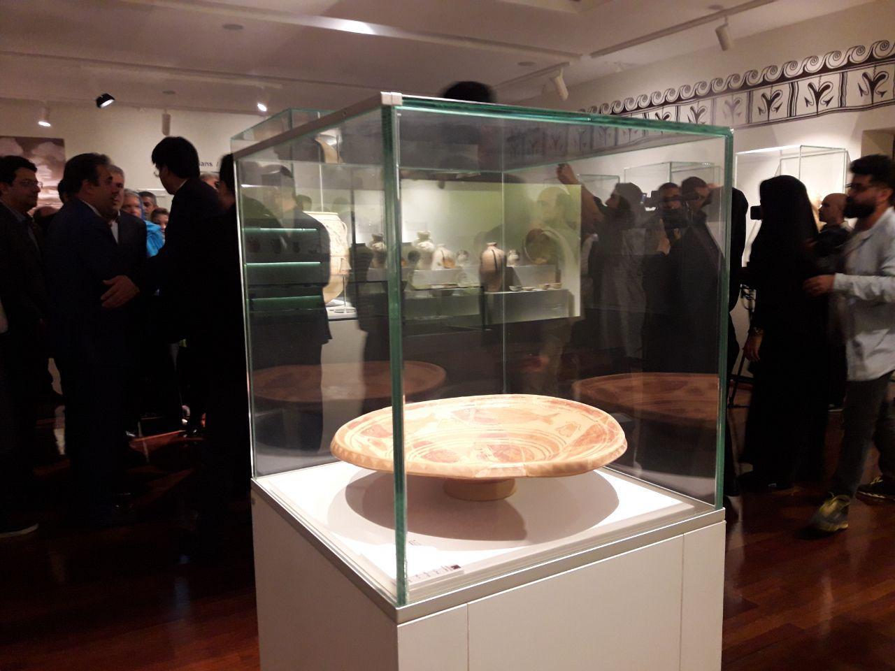 نمایشگاه میراث باستان شناسی اسپانیا افتتاح شد/مونسان: به برگزاری موزه های مشترک سرعت می دهیم