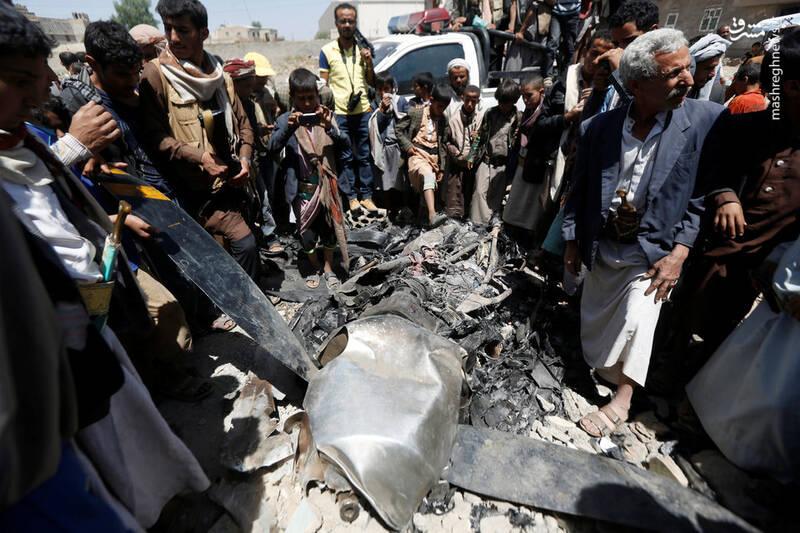 یمن تنها شکارچی پهپاد مشهور آمریکا در جهان/ MQ-۹ هم تسلیم ابتکار پدافندی و عمردهی انقلابی شد + تصاویر
